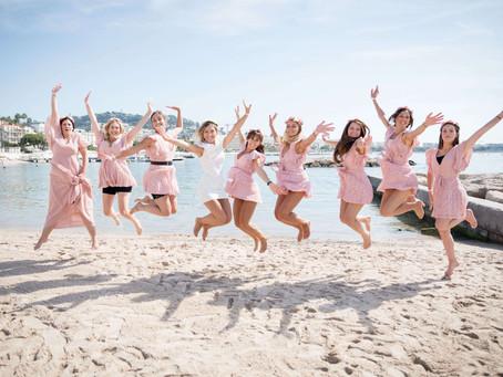 EVJF entre tapis rouge et pieds dans l'eau à Cannes
