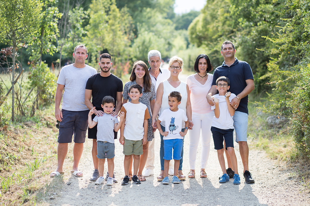 Seance photo famille Mougins