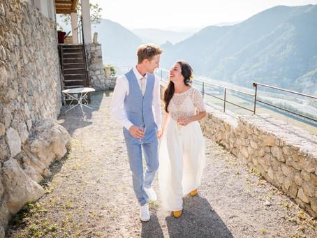 Le Mariage d'Eva et Samuel - Grasse et Entrevaux
