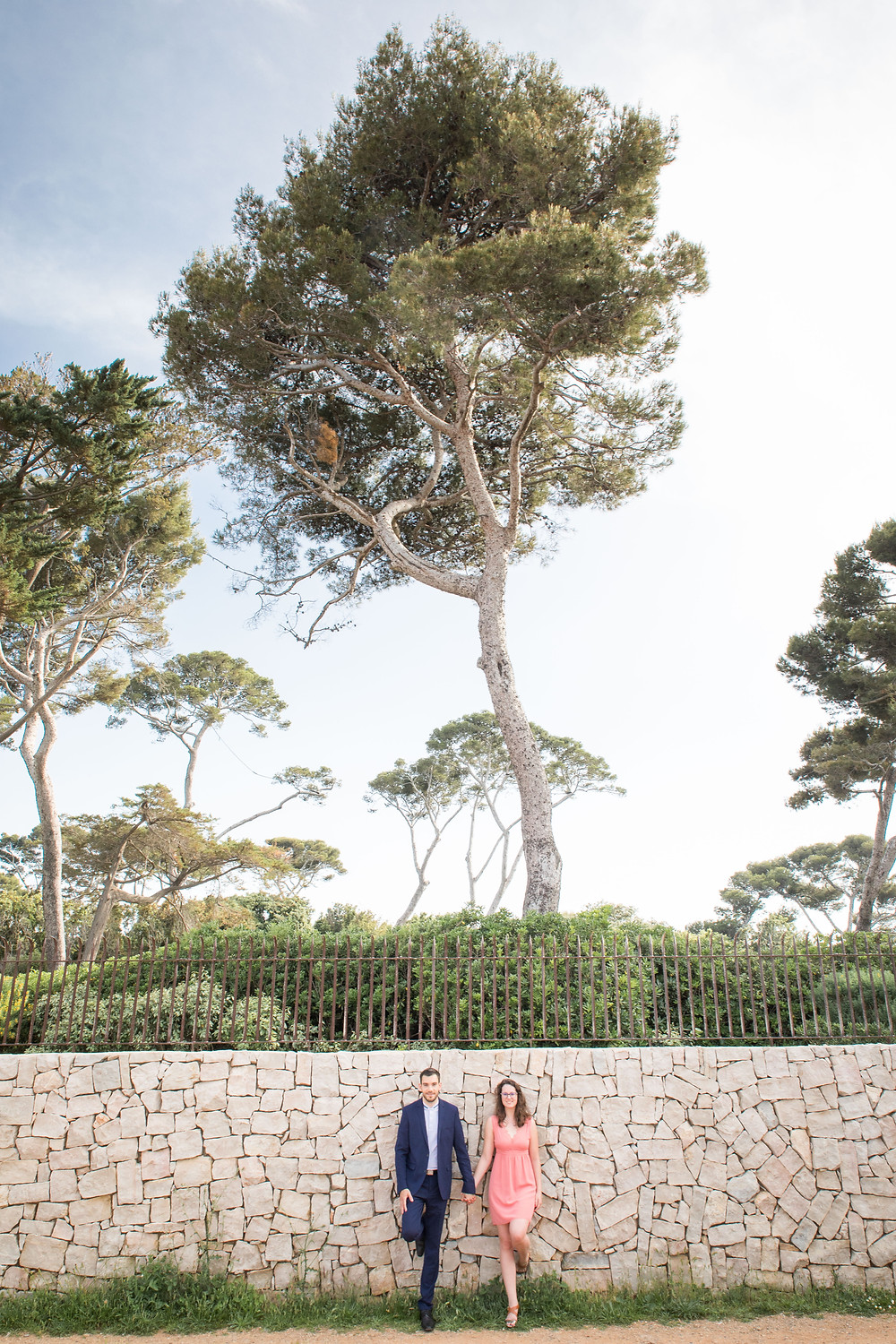 Séance photo engagement - Cap d'Antibes