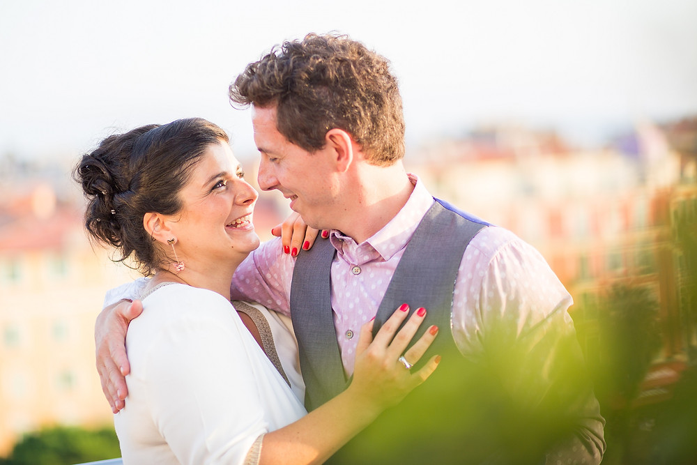 La Mariage de Sophie et Christophe à Nice
