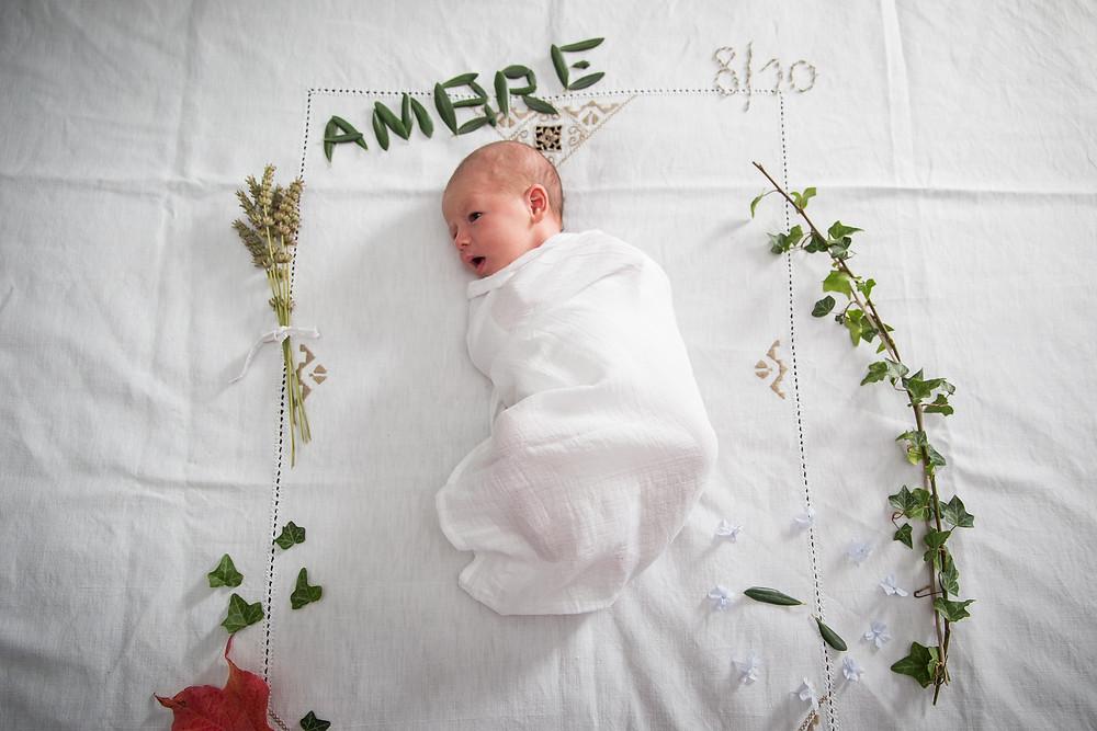 Séance nouveau-né / Ambre