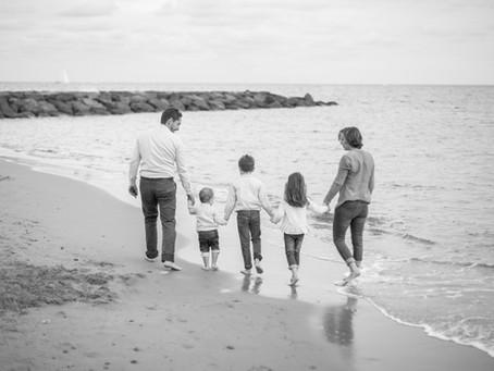 Séance photo en famille avec Magali et Rafael - Mandelieu