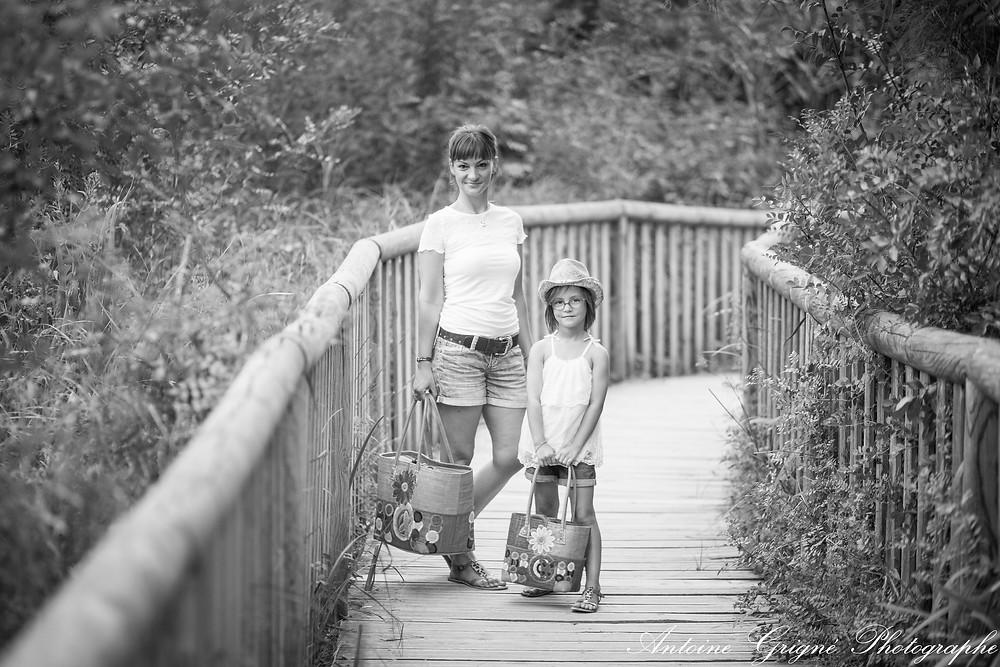 Séance photo mère et fille