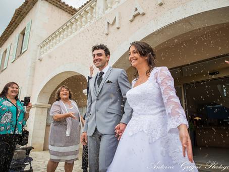 Le mariage de Marie-Pierre et Julien - Roquefort-les-Pins / Le Rouret / Mougins