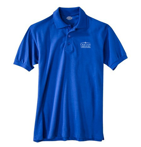 OLPH Youth Jersey Knit Polo Short Sleeve – 5th - 8th Grade Only