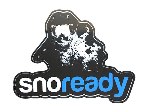 Sno Ready Logo Sticker