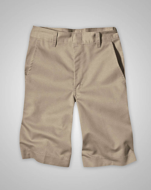 OLPH Boy's Khaki Shorts Flat Front (Regular 4-7) - 5th - 8th Grade Only