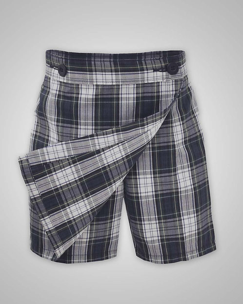 HFS Girl's K-5th Grade Plaid #57 Skort (6.5-18.5)