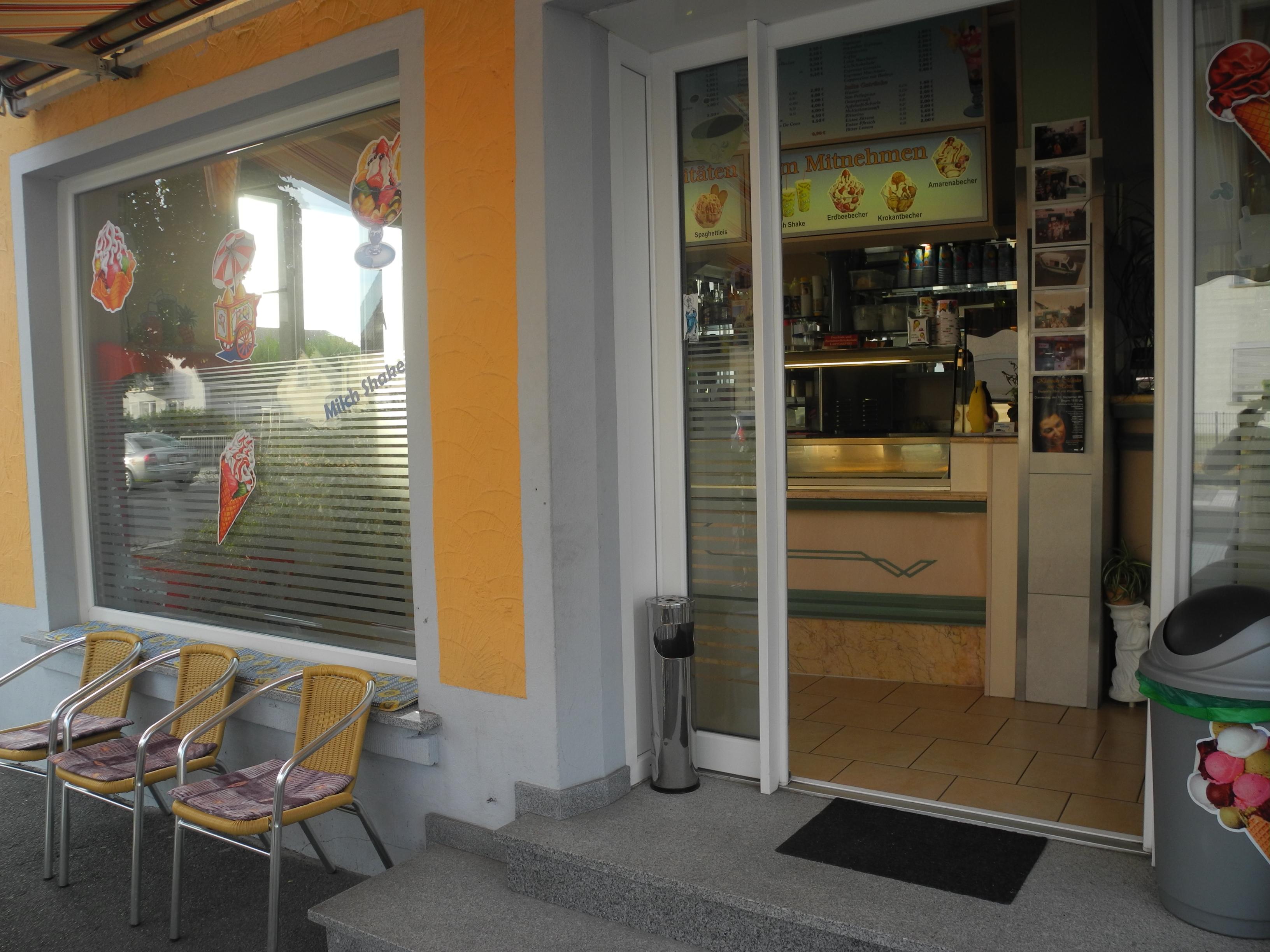 Eiscafé Eisdiele Gelateria Da Massim