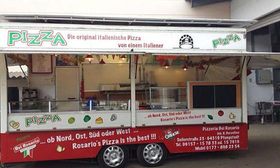 Pizzawagen bei Rosario Pfungstadt