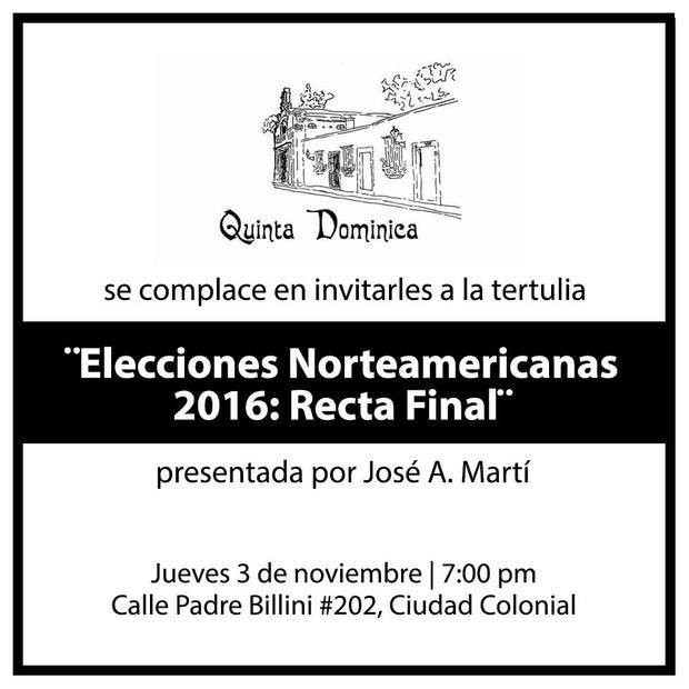 Elecciones Norteamericanas 2016: Recta Final