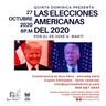 Conferencia : las elecciones americanas del 2020