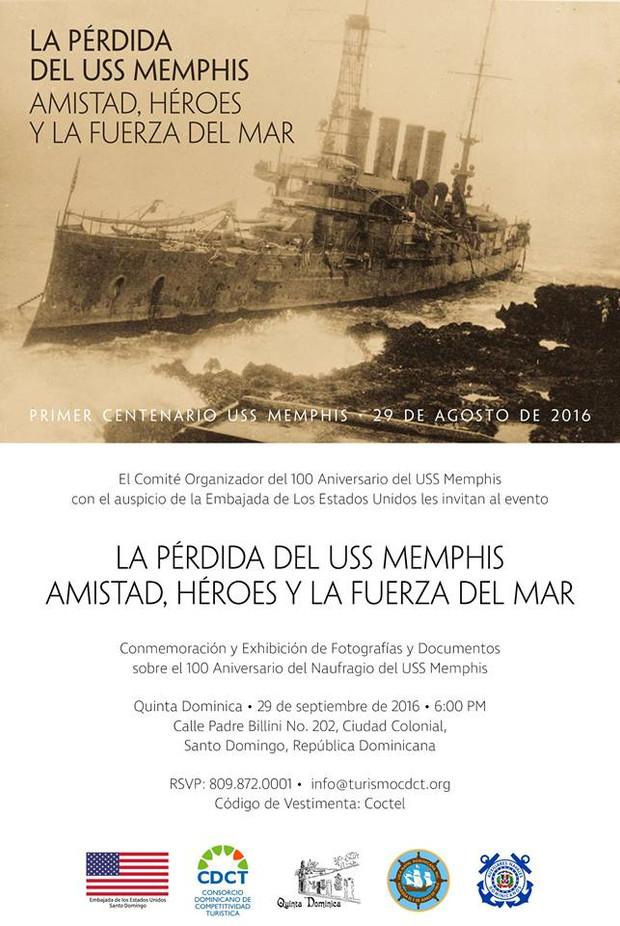 100 Aniversario del Naufragio del USS Memphis