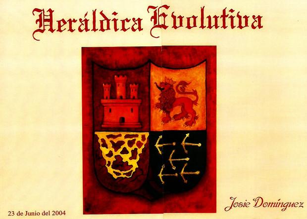 """Heráldica Evolutiva"" de Josie Domínguez"