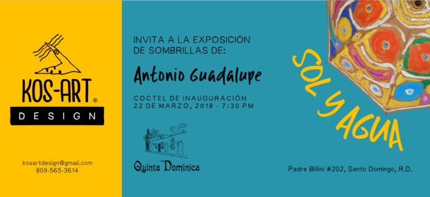 Exposición Sol y Agua de Antonio Guadalupe