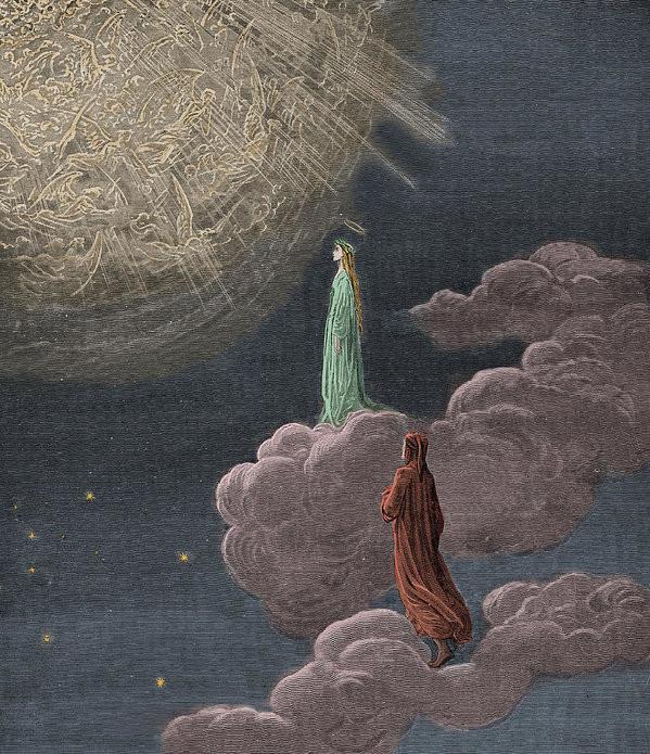 Tertulia El Paraíso de Dante Alighieri por Jose A. Martí