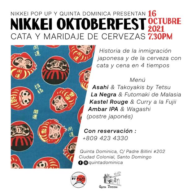 Cata y maridaje de cervezas : Nikkei Oktoberfest