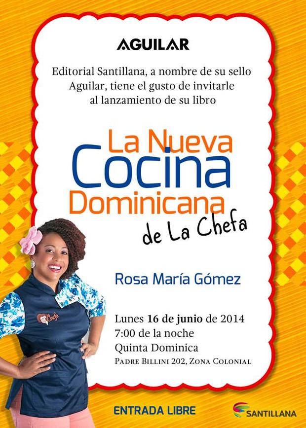 LA NUEVA COCINA DOMINICANA DE LA CHEFA.