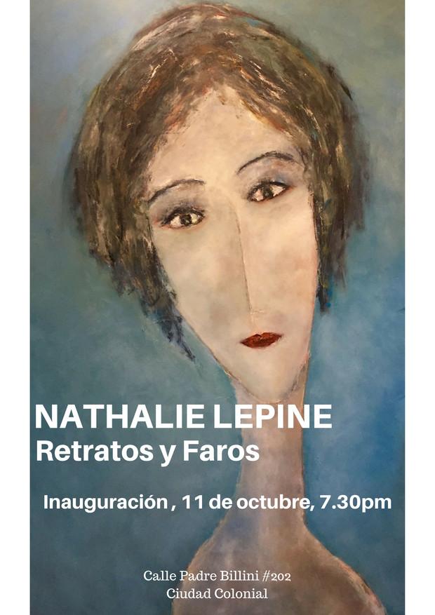 Retratos y Faros de Nathalie Lepine