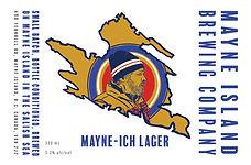 Mayne Island Mayne-ish lager sized 330.j