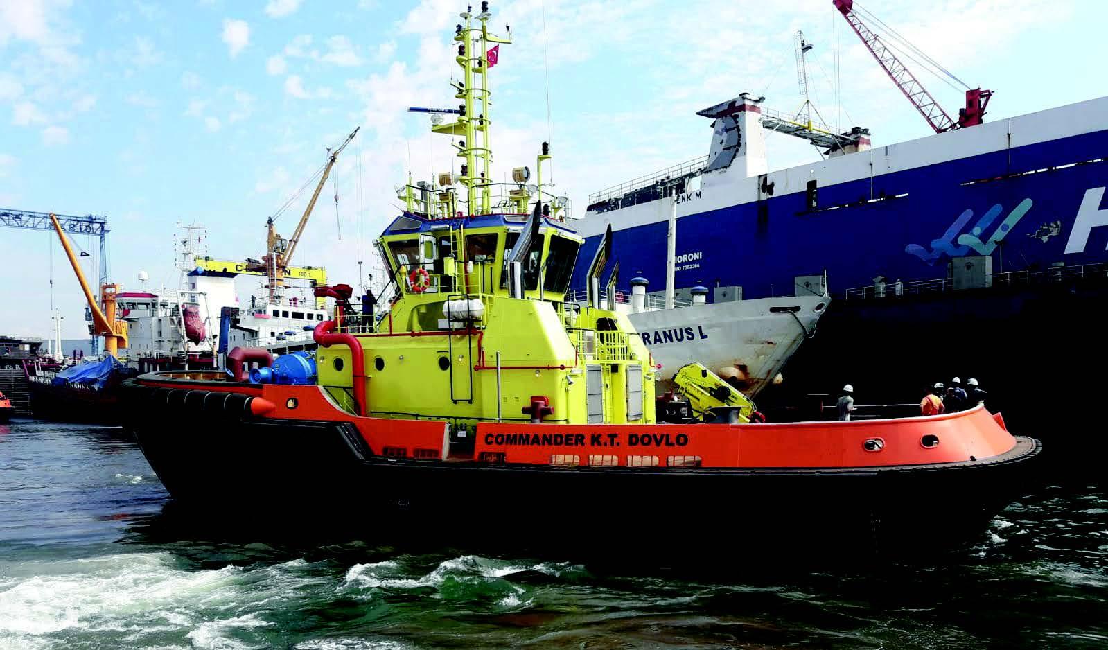 80 TBP FiFi Tug Boat