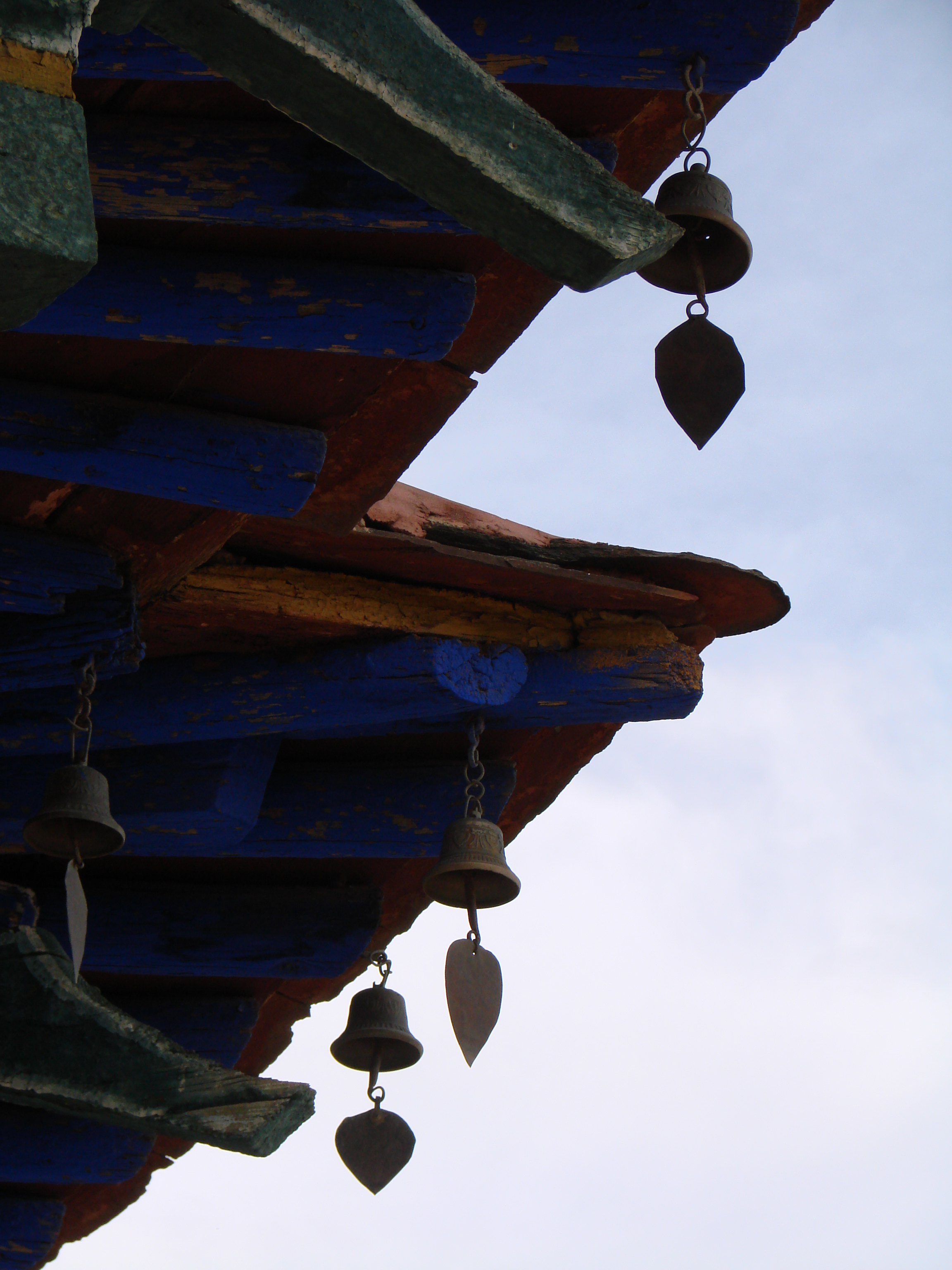 Tibet - Bells on Roof