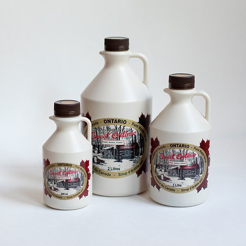 2 L Pure Maple Syrup Jug