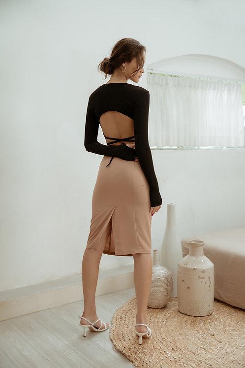 Monica Silk Skirt