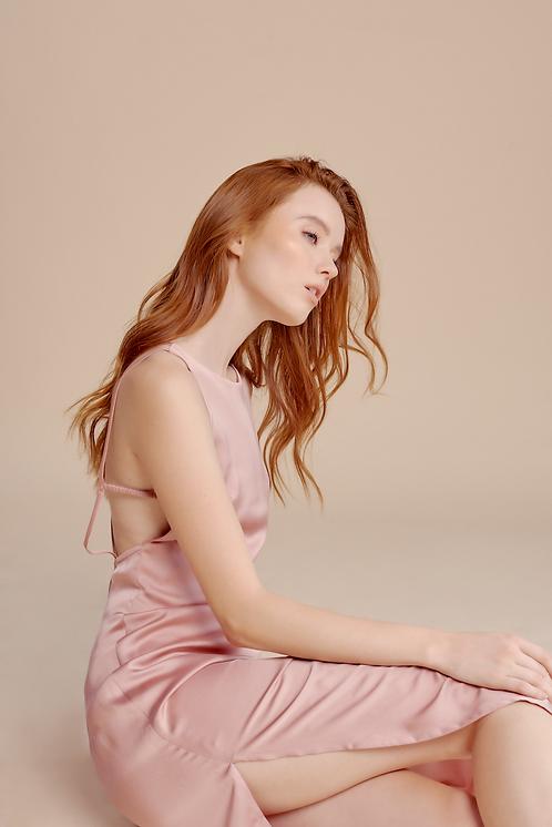 July Silk Dress