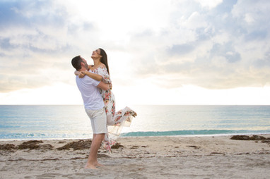 Hollywood Beach Engagement Session