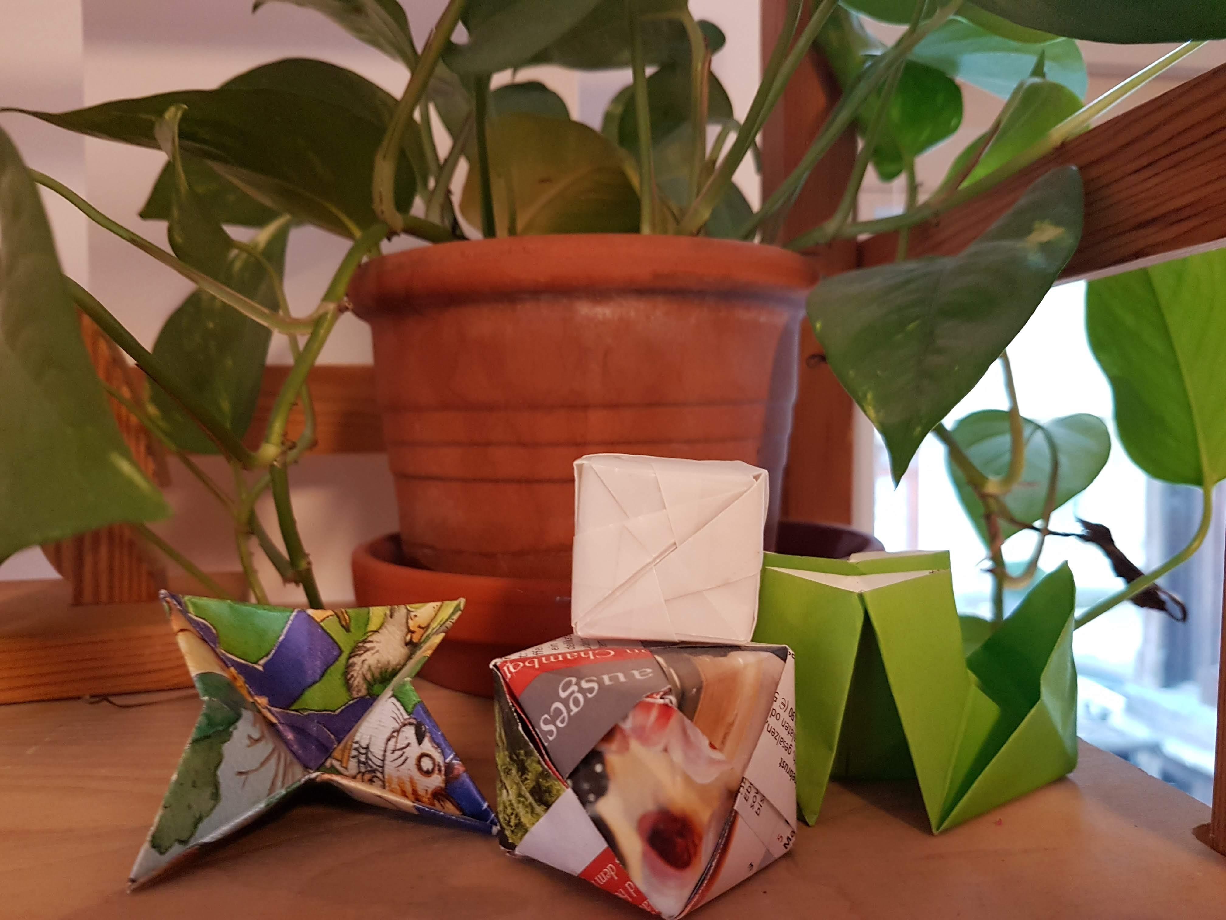 Falttechniken/  Origami