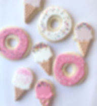 Donut & Ice Cream Sugar Cookies