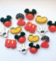 Mickey Mouse Sugar Cookies