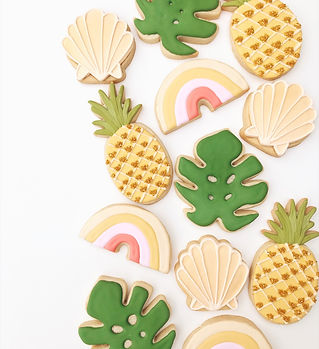 Tropical Sugar Cookies