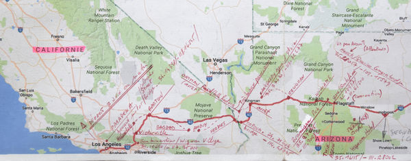 road book route 66