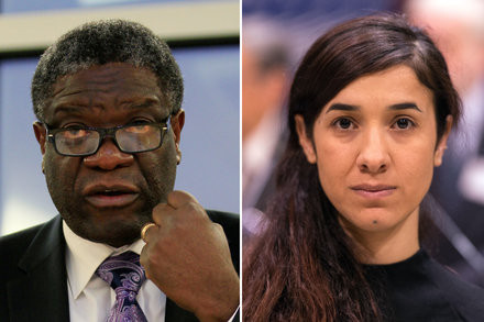 Activists fighting against sexual violence receive 2018 Nobel Peace Prize