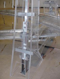 Maquete ponte estaiada