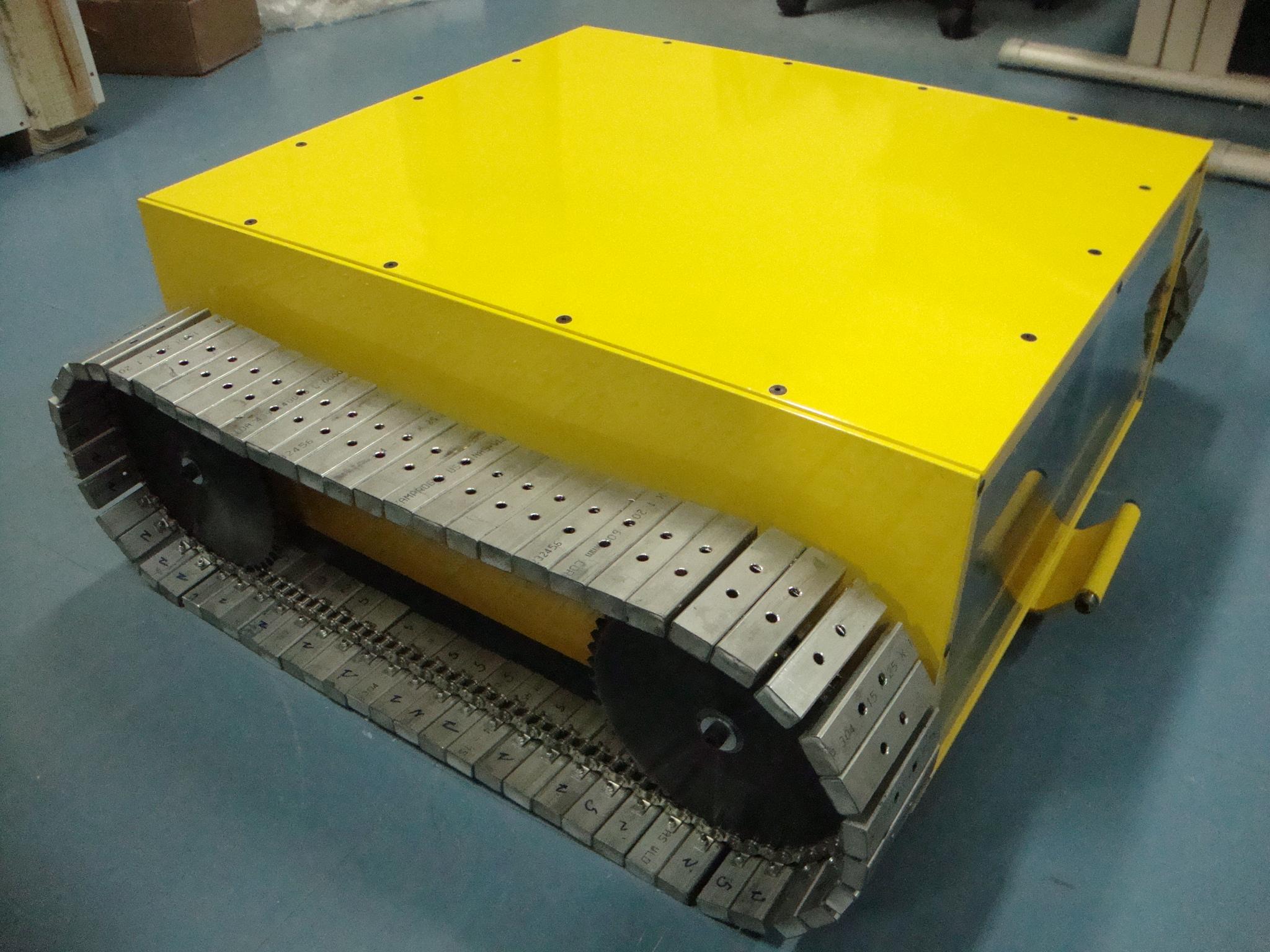 Robô para inspeção de casco de navio