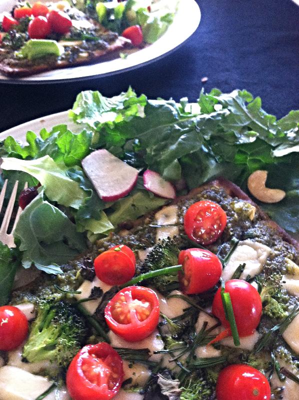 Rebecca Kraus: Flatbread Pizza