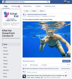 Kihei Kai Social Media Management