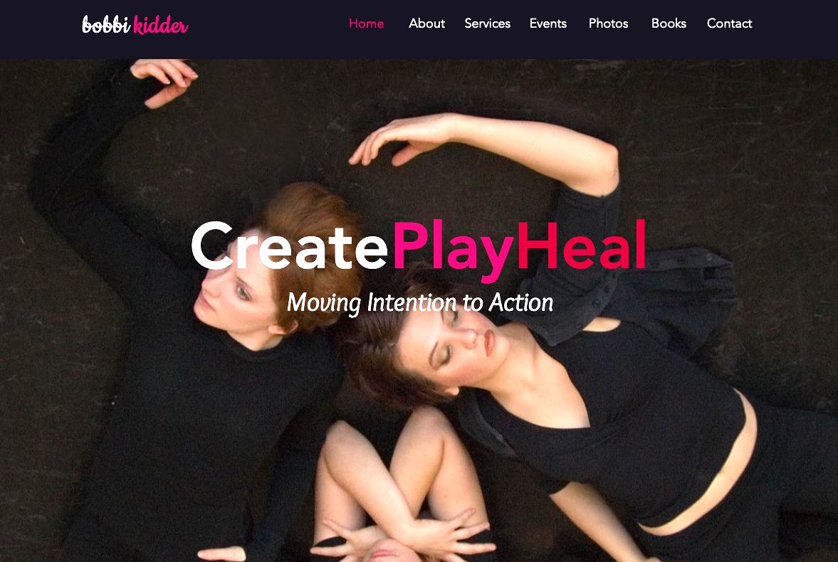 Create Play Heal Website
