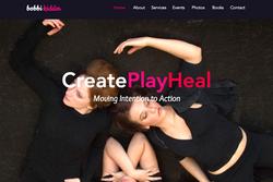 Create Play Heal Website