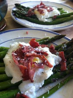 Rebecca Kraus: Eggs + Asparagus
