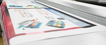 大判カラー印刷物
