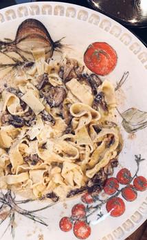 Truffle Mushroom Fettuccine