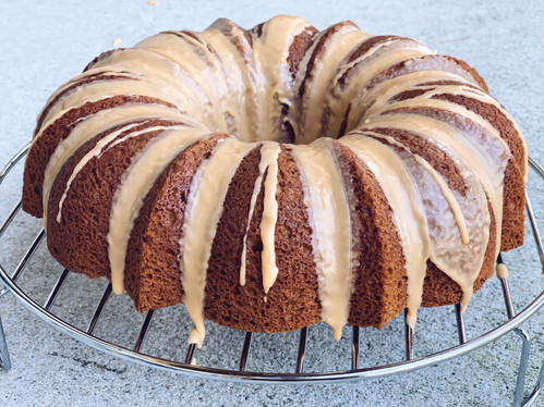 Cinnamon Butterscotch Bundt Cake