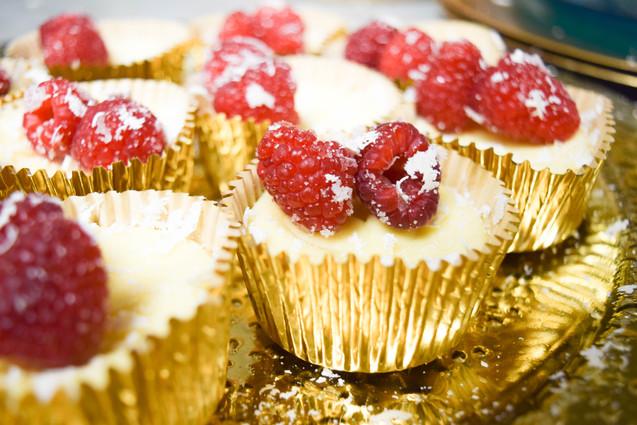Almond Cheesecake Bites