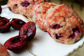 Cherry Amaretto Scones