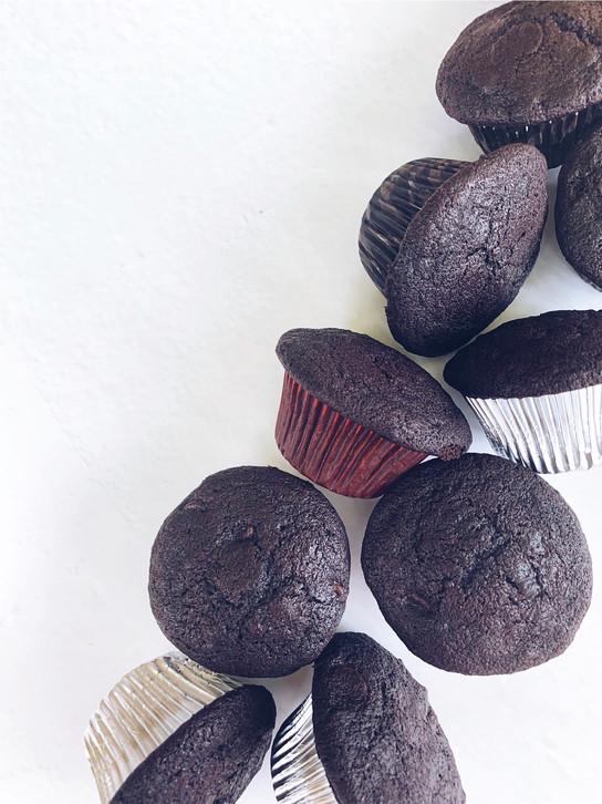 Chocolate x2 Banana Muffins